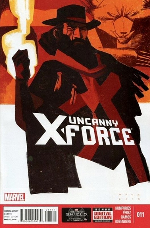 Cover of Uncanny X-Force (Vol 2) #11. One of 250,000 Vintage American Comics on sale from Krypton!