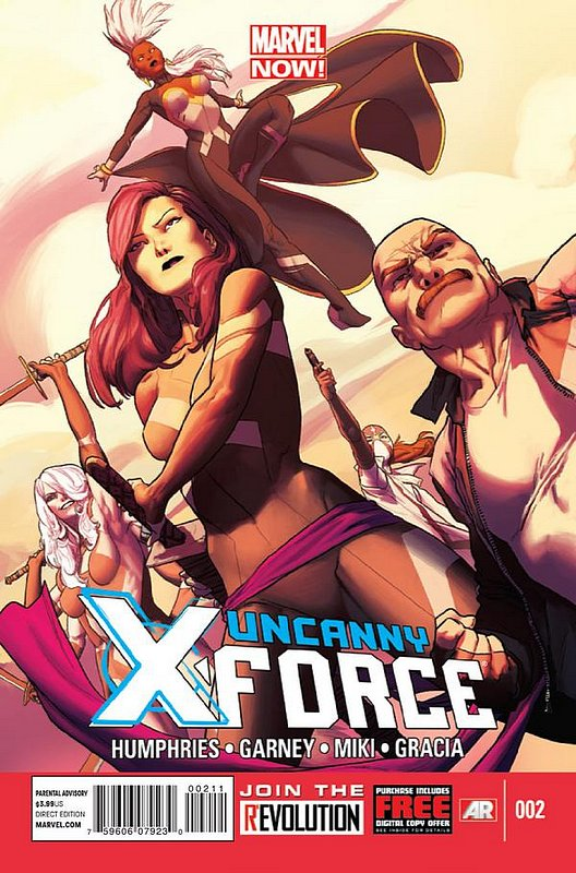 Cover of Uncanny X-Force (Vol 2) #2. One of 250,000 Vintage American Comics on sale from Krypton!