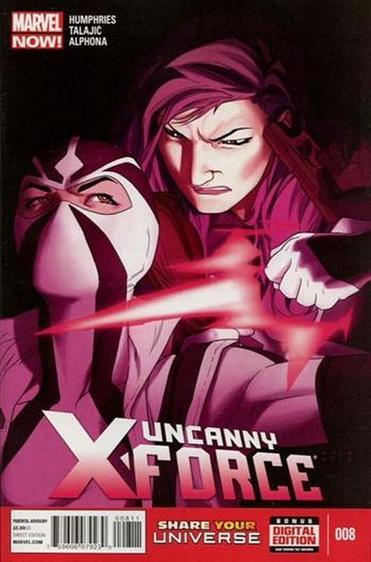 Cover of Uncanny X-Force (Vol 2) #8. One of 250,000 Vintage American Comics on sale from Krypton!