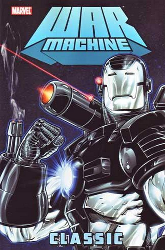 Cover of War Machine Classic (GN) (Softback) #1. One of 250,000 Vintage American Comics on sale from Krypton!