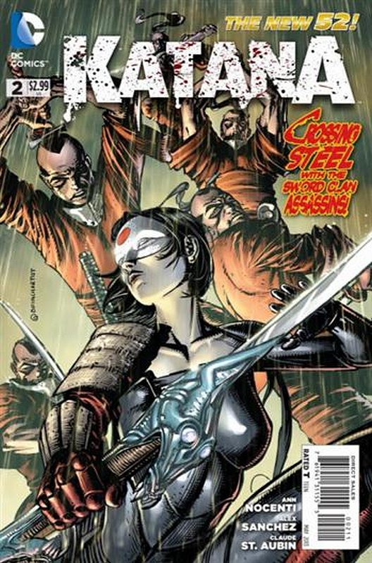 Cover of Katana (Vol 1) #2. One of 250,000 Vintage American Comics on sale from Krypton!