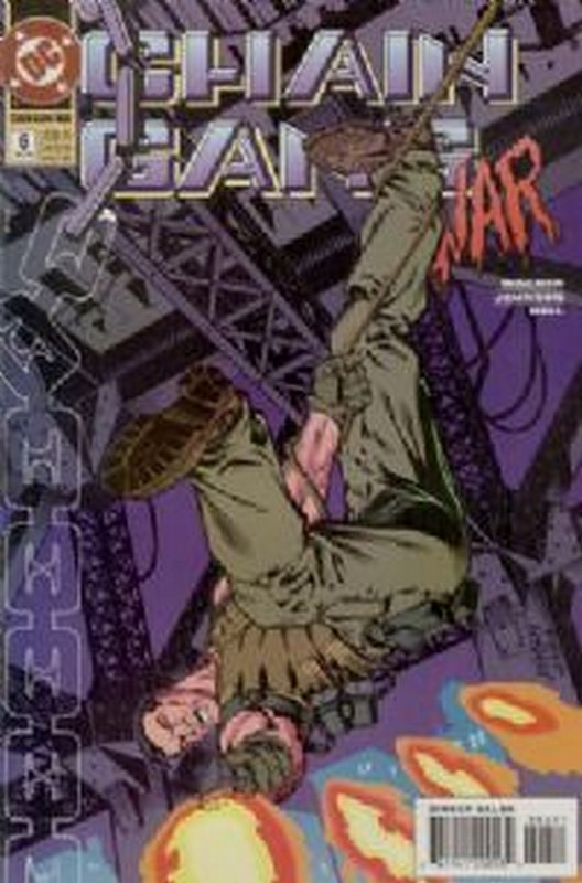Cover of Chain Gang War (Vol 1) #6. One of 250,000 Vintage American Comics on sale from Krypton!