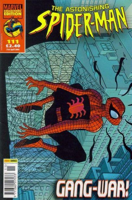 Cover of Astonishing Spider-Man (Vol 1) (UK) #111. One of 250,000 Vintage American Comics on sale from Krypton!