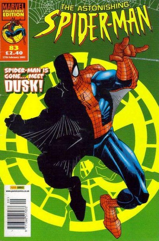 Cover of Astonishing Spider-Man (Vol 1) (UK) #83. One of 250,000 Vintage American Comics on sale from Krypton!