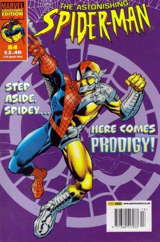 Cover of Astonishing Spider-Man (Vol 1) (UK) #84. One of 250,000 Vintage American Comics on sale from Krypton!