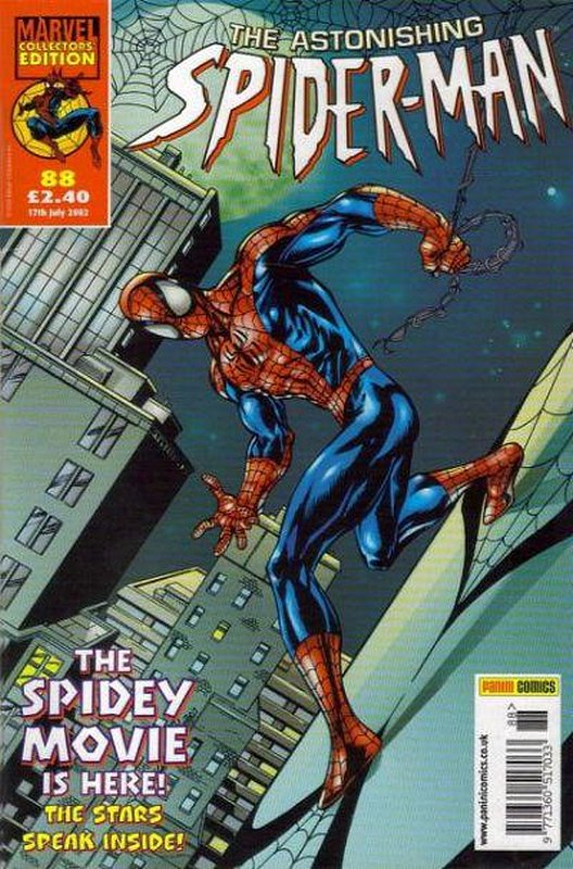 Cover of Astonishing Spider-Man (Vol 1) (UK) #88. One of 250,000 Vintage American Comics on sale from Krypton!