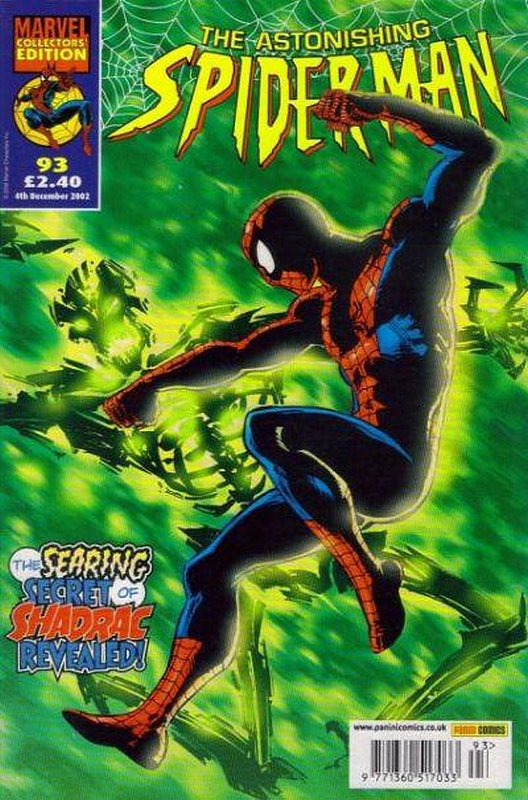 Cover of Astonishing Spider-Man (Vol 1) (UK) #93. One of 250,000 Vintage American Comics on sale from Krypton!