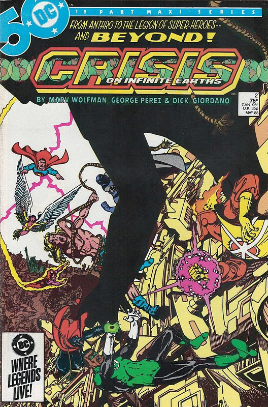Cover of Crisis on Infinite Earths (1985 Ltd) #2. One of 250,000 Vintage American Comics on sale from Krypton!