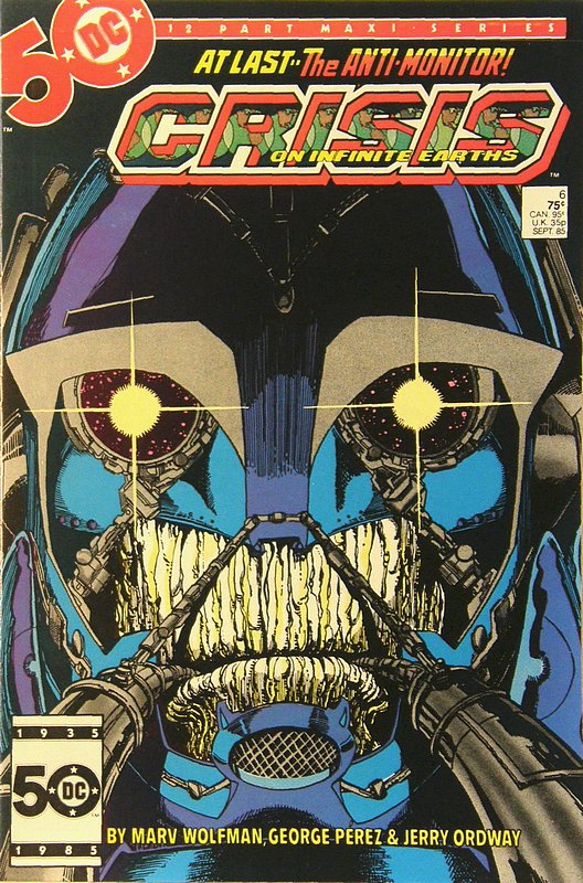 Cover of Crisis on Infinite Earths (1985 Ltd) #6. One of 250,000 Vintage American Comics on sale from Krypton!
