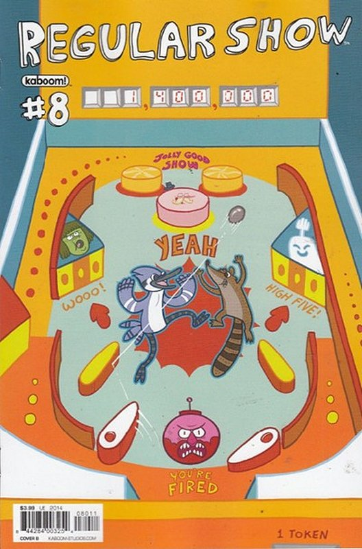Cover of Regular Show (Vol 1) #8. One of 250,000 Vintage American Comics on sale from Krypton!