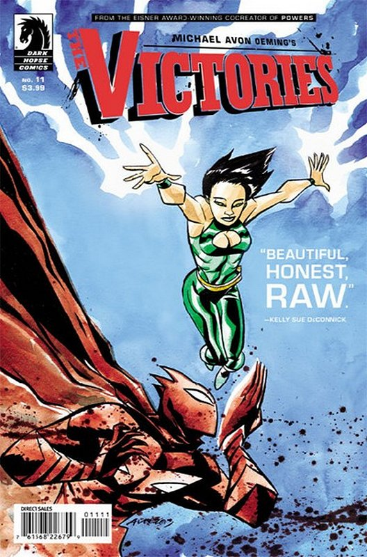 Cover of Victories (Vol 1 Transhuman #11. One of 250,000 Vintage American Comics on sale from Krypton!
