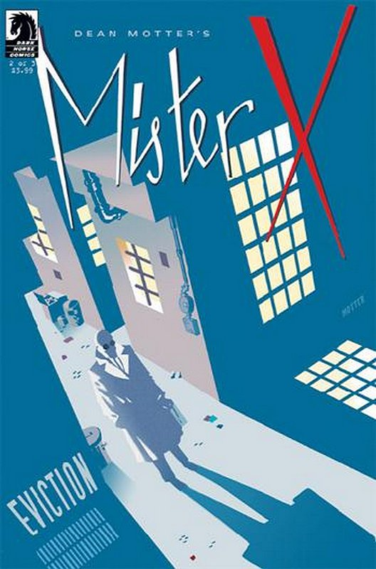 Cover of Mister X: Eviction (2013 Ltd) #2. One of 250,000 Vintage American Comics on sale from Krypton!