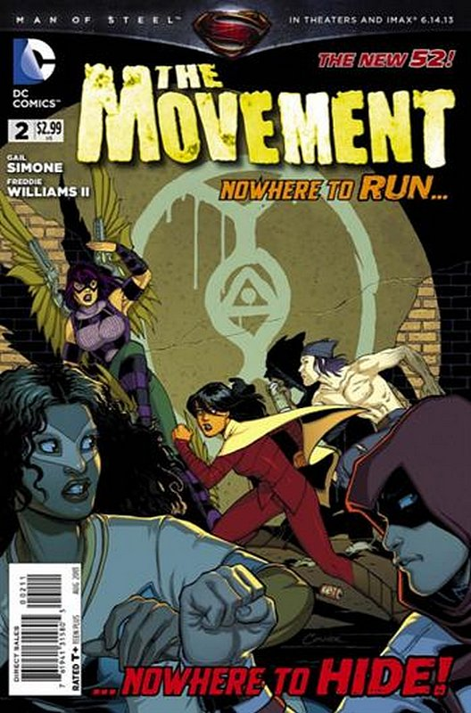 Cover of Movement (Vol 1) The #2. One of 250,000 Vintage American Comics on sale from Krypton!