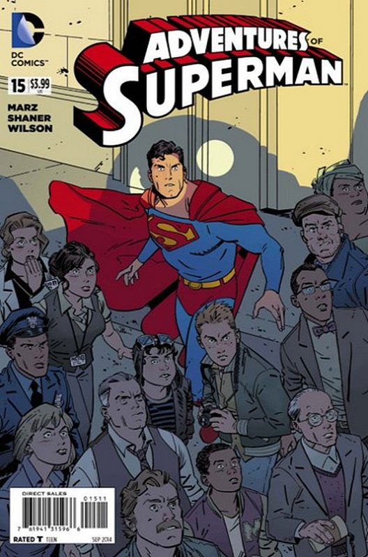 Cover of Adventures of Superman (Vol 2) #15. One of 250,000 Vintage American Comics on sale from Krypton!