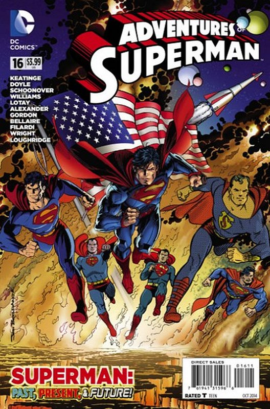 Cover of Adventures of Superman (Vol 2) #16. One of 250,000 Vintage American Comics on sale from Krypton!