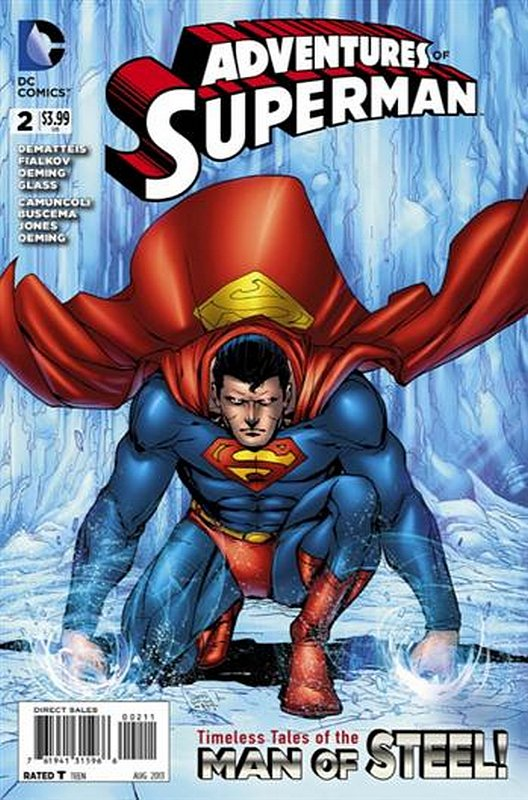 Cover of Adventures of Superman (Vol 2) #2. One of 250,000 Vintage American Comics on sale from Krypton!