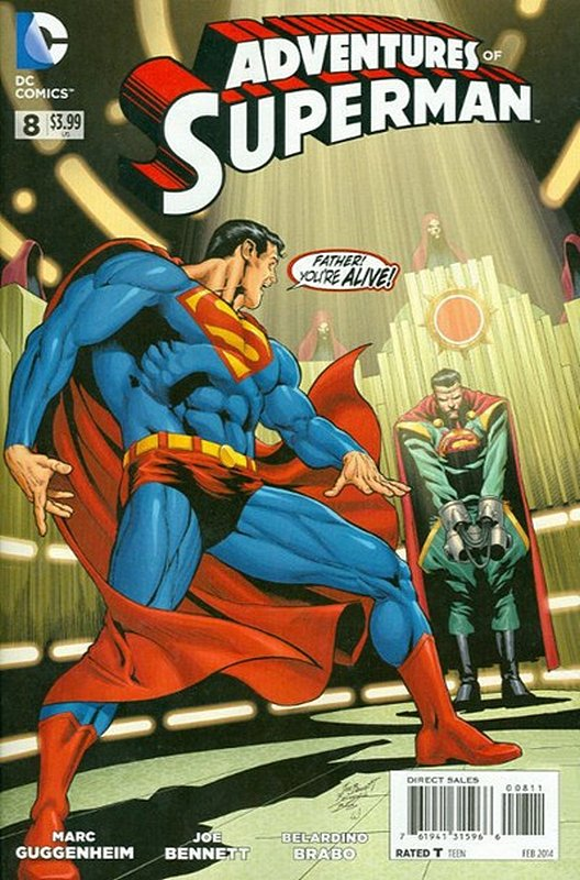 Cover of Adventures of Superman (Vol 2) #8. One of 250,000 Vintage American Comics on sale from Krypton!
