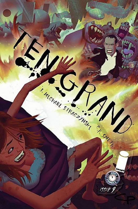 Cover of Ten Grand (Vol 1) #9. One of 250,000 Vintage American Comics on sale from Krypton!