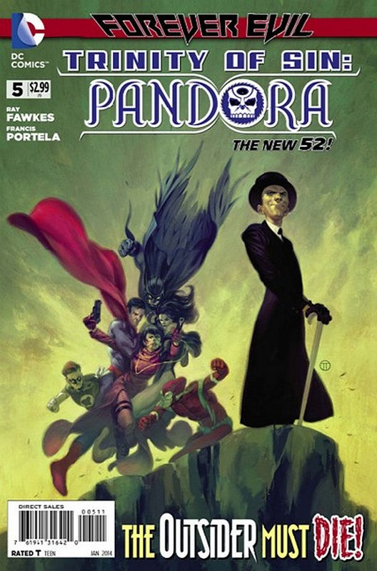 Cover of Trinity of Sin: Pandora (Vol 1) #5. One of 250,000 Vintage American Comics on sale from Krypton!