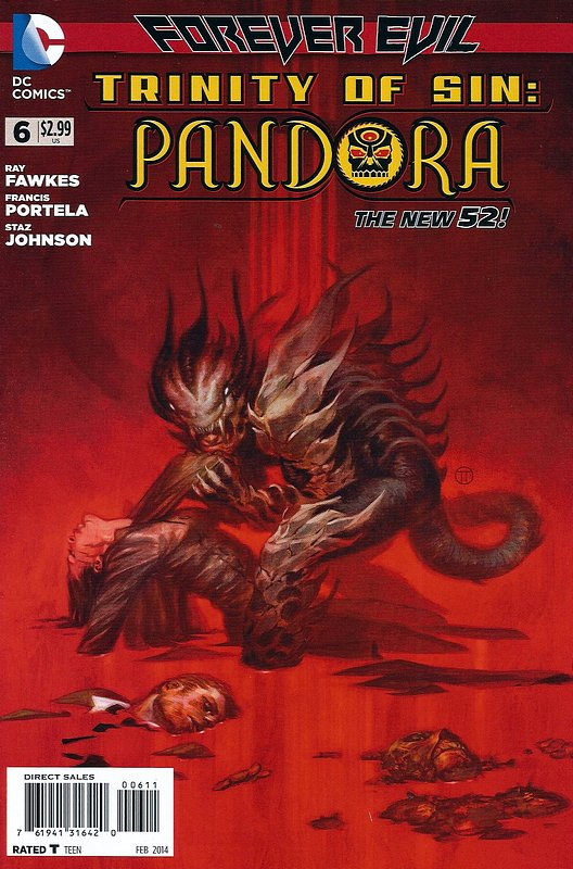 Cover of Trinity of Sin: Pandora (Vol 1) #6. One of 250,000 Vintage American Comics on sale from Krypton!