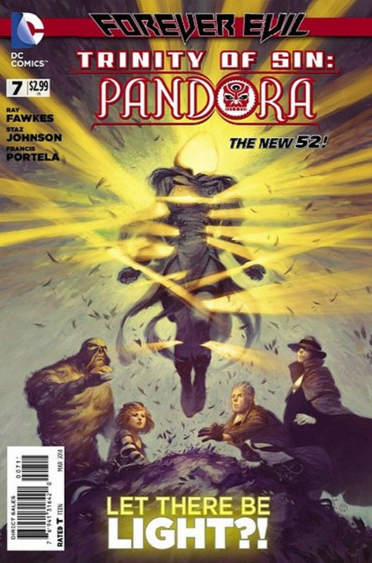 Cover of Trinity of Sin: Pandora (Vol 1) #7. One of 250,000 Vintage American Comics on sale from Krypton!