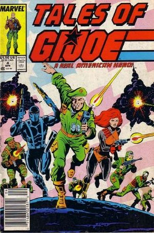 Cover of Tales of G.I. Joe (Vol 1) #4. One of 250,000 Vintage American Comics on sale from Krypton!