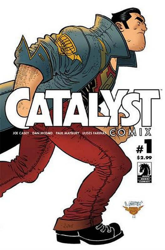 Cover of Catalyst Comix (2013 Ltd) #1. One of 250,000 Vintage American Comics on sale from Krypton!