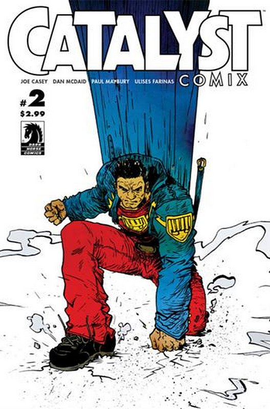 Cover of Catalyst Comix (2013 Ltd) #2. One of 250,000 Vintage American Comics on sale from Krypton!