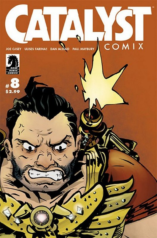 Cover of Catalyst Comix (2013 Ltd) #8. One of 250,000 Vintage American Comics on sale from Krypton!