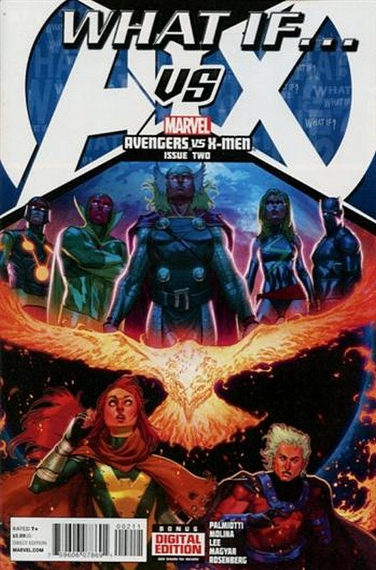 Cover of What if? AVX (2013 Ltd) #2. One of 250,000 Vintage American Comics on sale from Krypton!