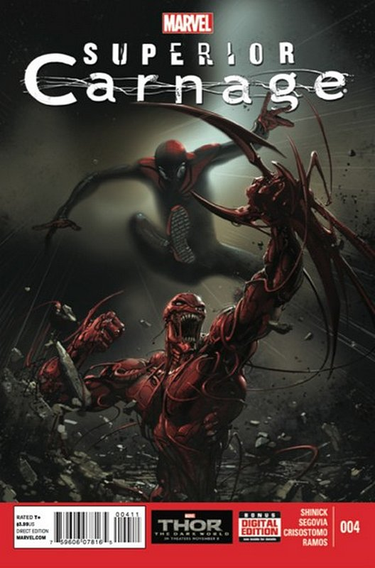 Cover of Superior Carnage (2013 Ltd) #4. One of 250,000 Vintage American Comics on sale from Krypton!