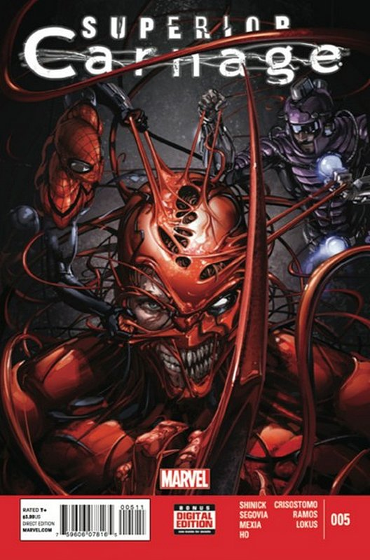 Cover of Superior Carnage (2013 Ltd) #5. One of 250,000 Vintage American Comics on sale from Krypton!
