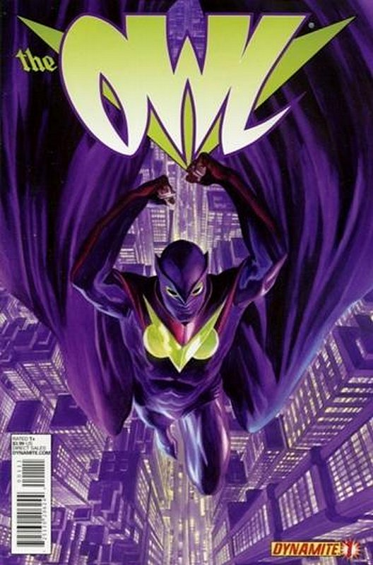 Cover of Owl (2013 Ltd) #1. One of 250,000 Vintage American Comics on sale from Krypton!