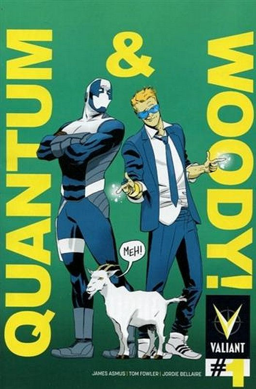 Cover of Quantum & Woody (Vol 2) #1. One of 250,000 Vintage American Comics on sale from Krypton!