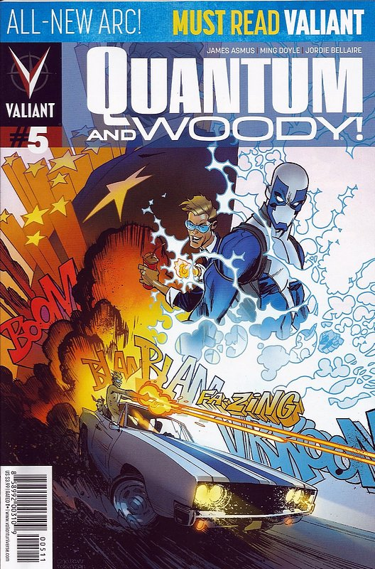 Cover of Quantum & Woody (Vol 2) #5. One of 250,000 Vintage American Comics on sale from Krypton!