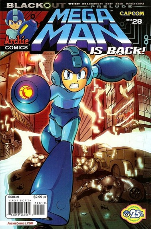 Cover of Mega Man (Archie Vol 1) #28. One of 250,000 Vintage American Comics on sale from Krypton!