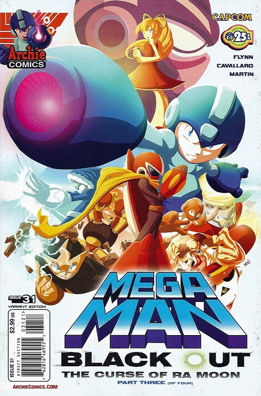Cover of Mega Man (Archie Vol 1) #31. One of 250,000 Vintage American Comics on sale from Krypton!
