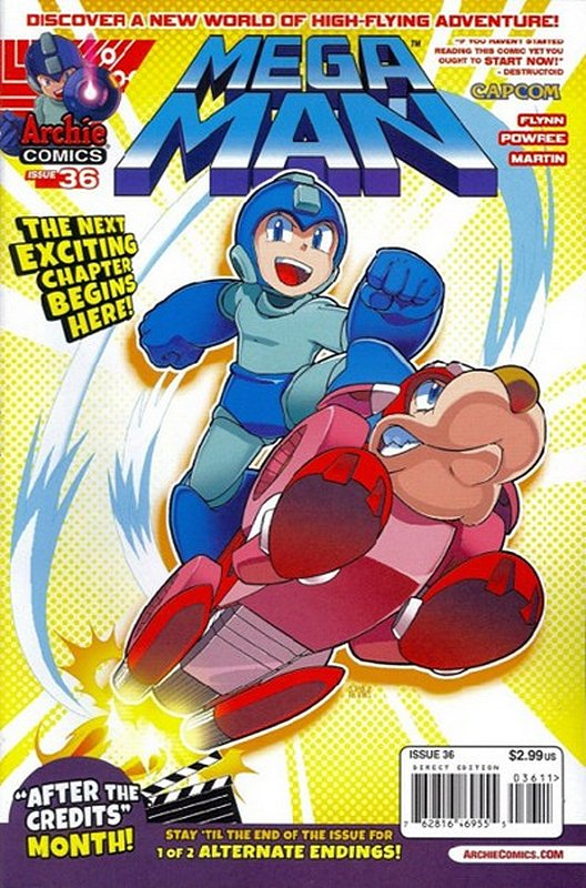 Cover of Mega Man (Archie Vol 1) #36. One of 250,000 Vintage American Comics on sale from Krypton!