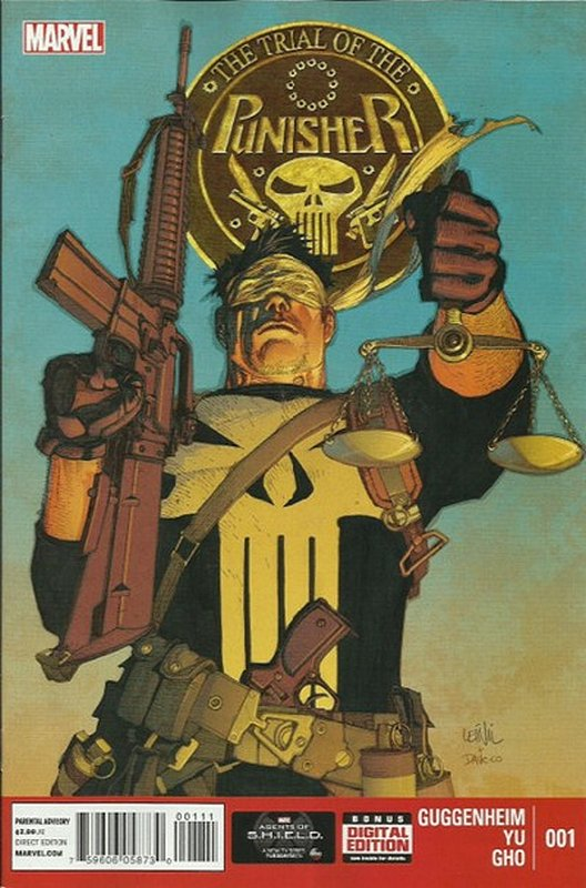 Cover of Punisher: Trial of The Punisher (2013 Ltd) #1. One of 250,000 Vintage American Comics on sale from Krypton!