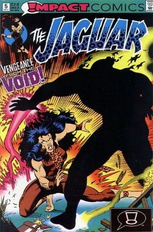Cover of Jaguar (Impact) (Vol 1) #5. One of 250,000 Vintage American Comics on sale from Krypton!