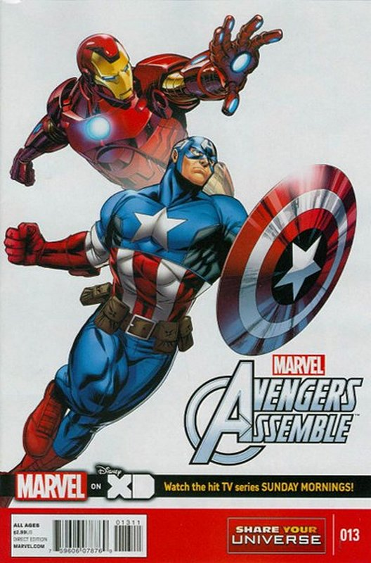 Cover of Avengers Assemble: Marvel Universe (Vol 1) #13. One of 250,000 Vintage American Comics on sale from Krypton!