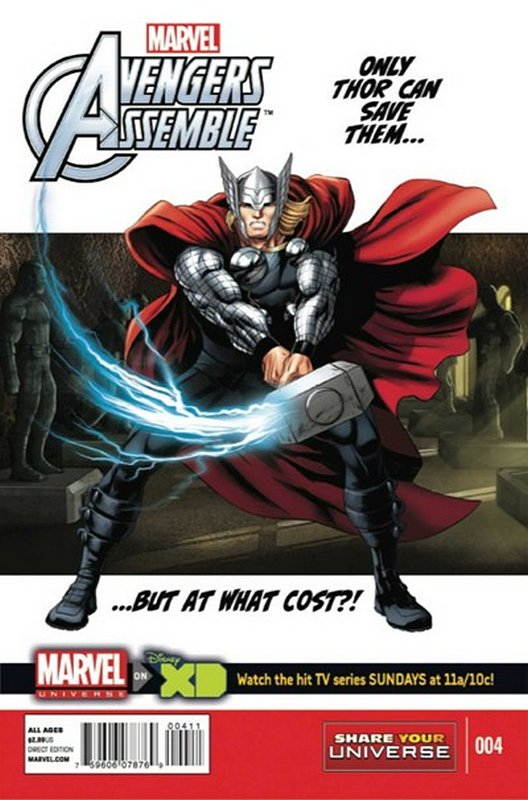 Cover of Avengers Assemble: Marvel Universe (Vol 1) #4. One of 250,000 Vintage American Comics on sale from Krypton!