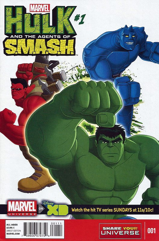 Cover of Hulk: Agents of Smash (2013 Ltd) #1. One of 250,000 Vintage American Comics on sale from Krypton!