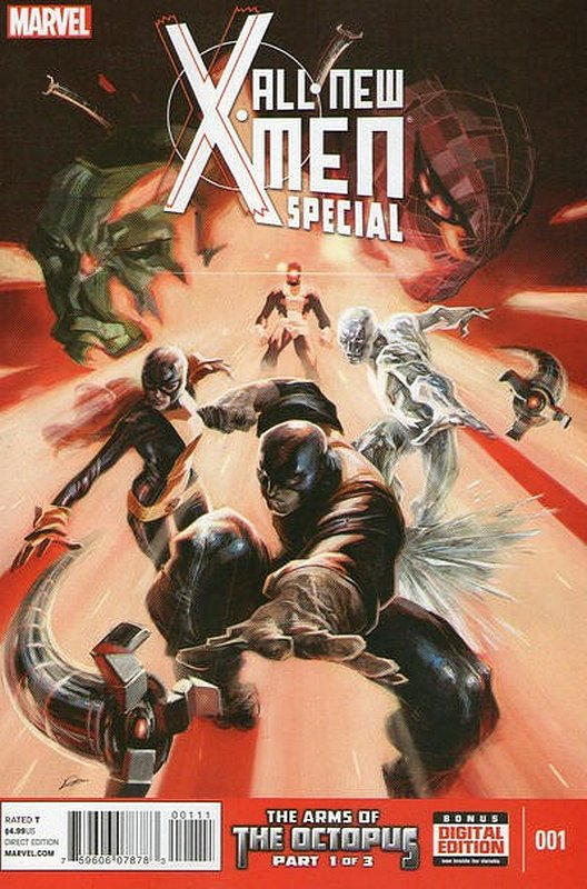 Cover of X-men (2013 One Shot) The All New Special #1. One of 250,000 Vintage American Comics on sale from Krypton!