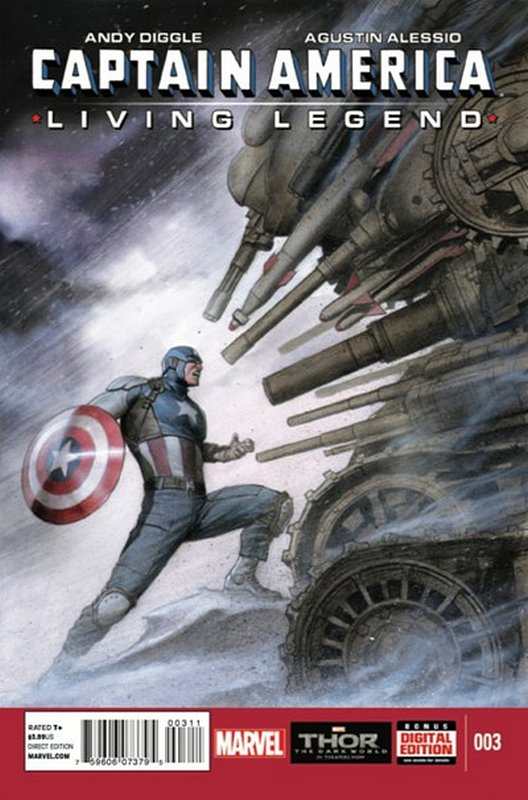 Cover of Captain America: Living Legend (2013 Ltd) #3. One of 250,000 Vintage American Comics on sale from Krypton!