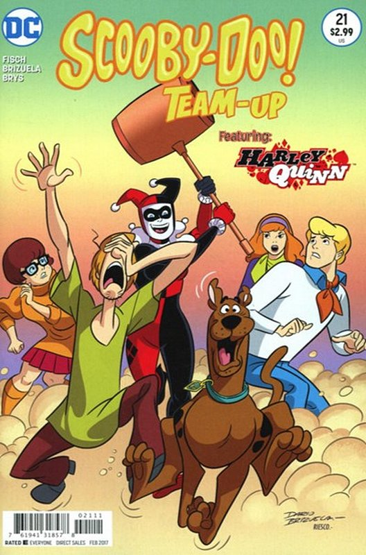 Cover of Scooby Doo: Team-Up (Vol 1) #21. One of 250,000 Vintage American Comics on sale from Krypton!