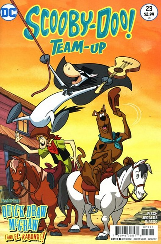 Cover of Scooby Doo: Team-Up (Vol 1) #23. One of 250,000 Vintage American Comics on sale from Krypton!