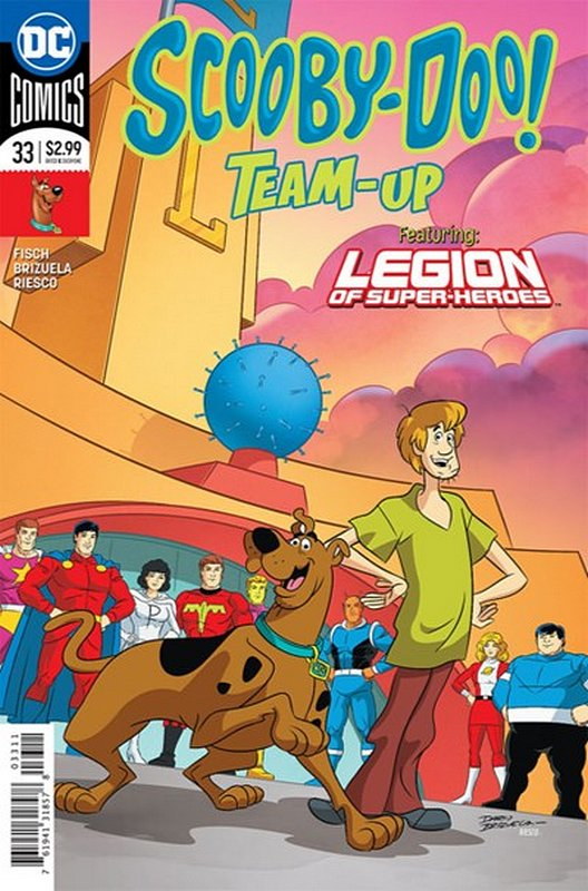 Cover of Scooby Doo: Team-Up (Vol 1) #33. One of 250,000 Vintage American Comics on sale from Krypton!