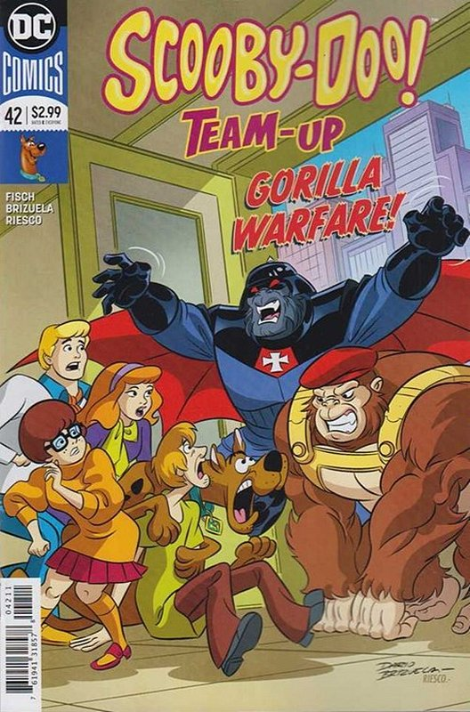Cover of Scooby Doo: Team-Up (Vol 1) #42. One of 250,000 Vintage American Comics on sale from Krypton!