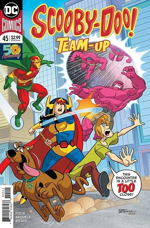 Cover of Scooby Doo: Team-Up (Vol 1) #45. One of 250,000 Vintage American Comics on sale from Krypton!